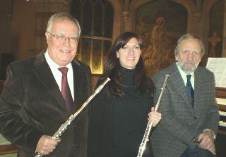 Giorgio Blasco e Irina Perosa, flauti Alessandro Bevilacqua, pianoforte